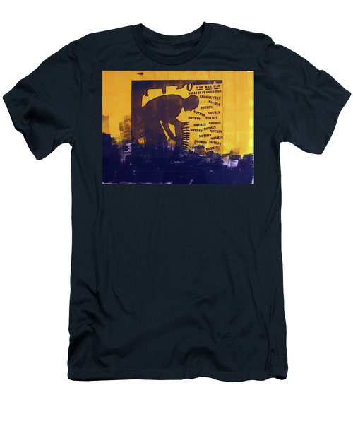 D U Rounds Project, Print 25 Men's T-Shirt (Athletic Fit)