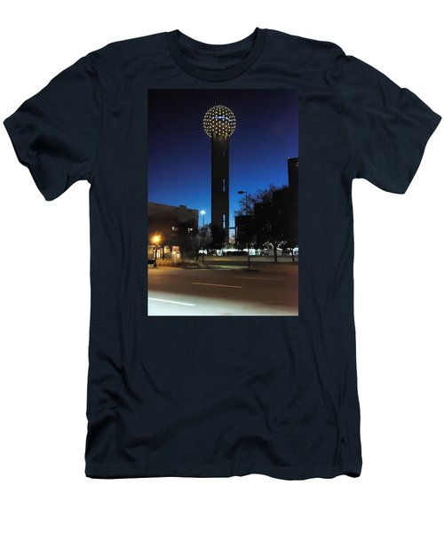 Dallas Reunion Tower Men's T-Shirt (Athletic Fit)