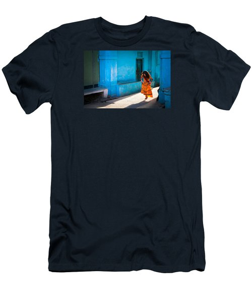 Dancer In The Light Men's T-Shirt (Athletic Fit)