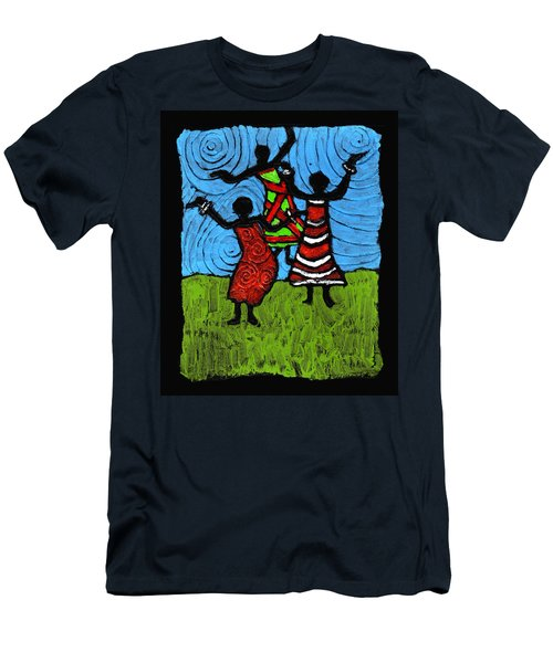 Dancing So Good I Started To Fly Men's T-Shirt (Athletic Fit)