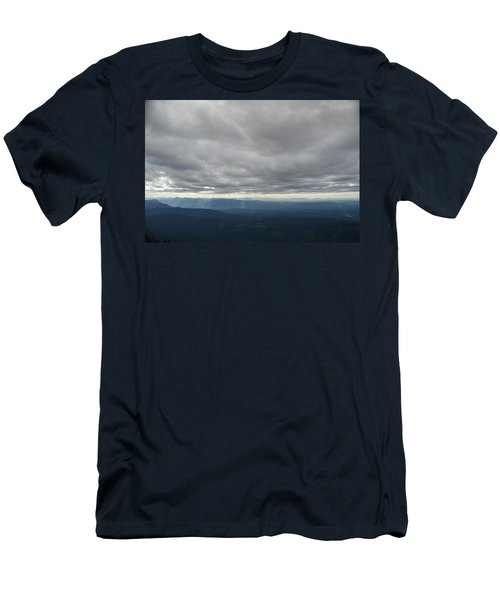 Dark Mountains Men's T-Shirt (Athletic Fit)