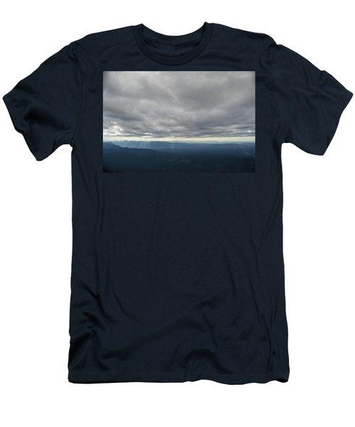 Dark Mountains Men's T-Shirt (Athletic Fit)
