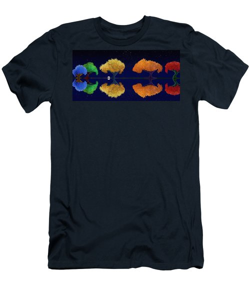 Dark Night Dance Men's T-Shirt (Athletic Fit)