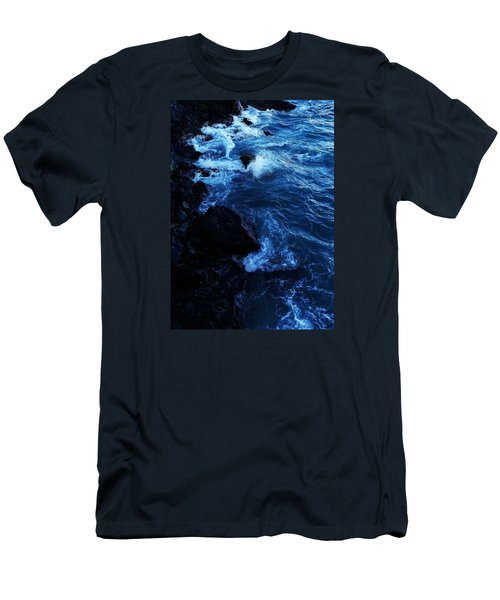 Men's T-Shirt (Athletic Fit) featuring the digital art Dark Water by Julian Perry