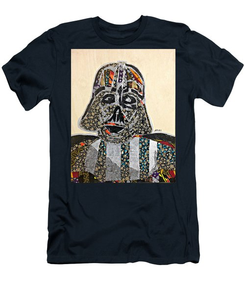 Darth Vader Star Wars Afrofuturist Collection Men's T-Shirt (Athletic Fit)