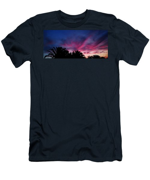 Sunrise - Alba Men's T-Shirt (Slim Fit) by Zedi