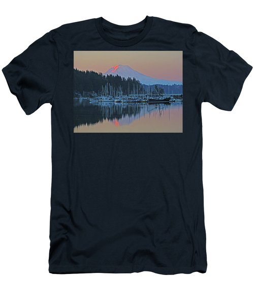 Dawn At Gig Harbor Men's T-Shirt (Athletic Fit)