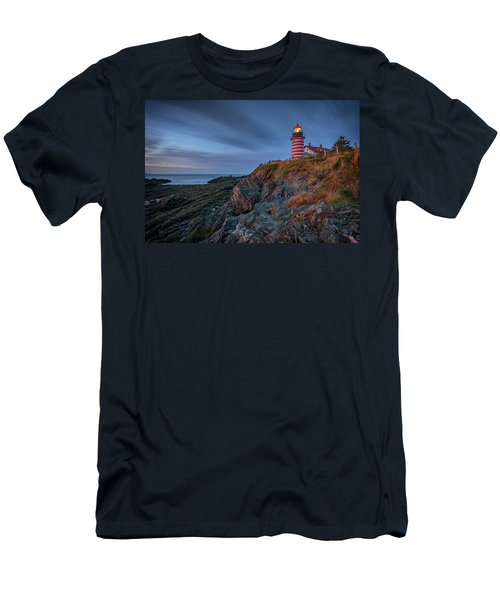 Men's T-Shirt (Athletic Fit) featuring the photograph Dawn At West Quoddy Head by Rick Berk