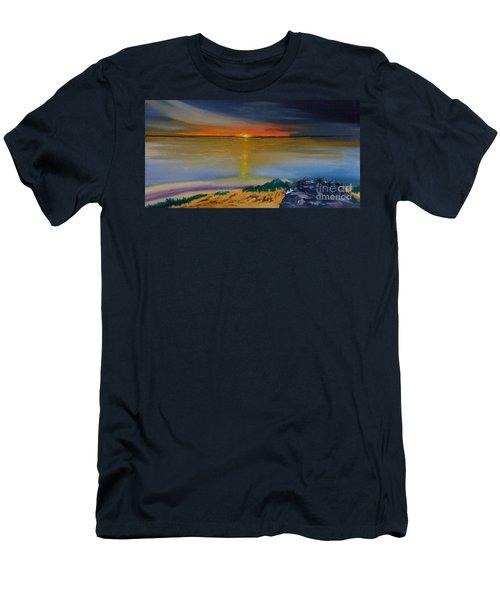 Days End Men's T-Shirt (Athletic Fit)