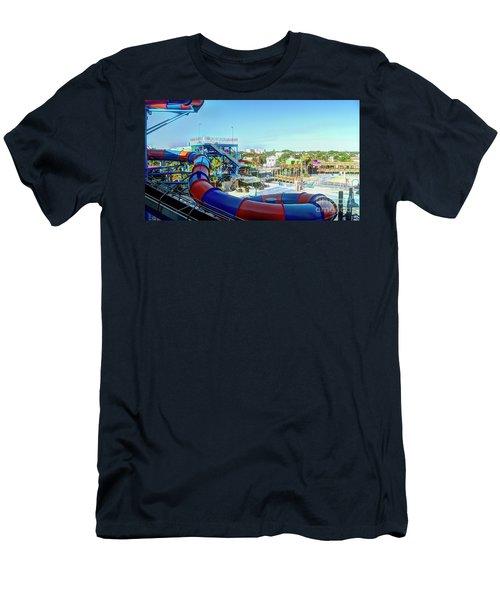 Daytona Lagoon Men's T-Shirt (Athletic Fit)