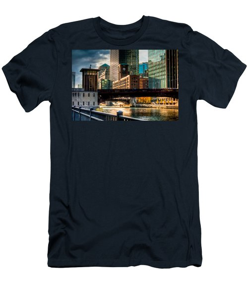 Dearborn Bridge Men's T-Shirt (Athletic Fit)