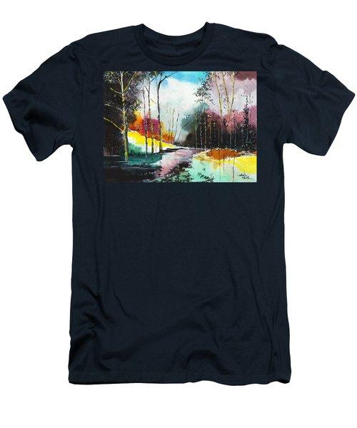 Deep 5 Men's T-Shirt (Athletic Fit)