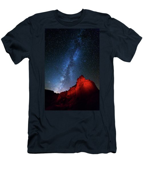 Deep In The Heart Of Texas - 1 Men's T-Shirt (Slim Fit) by Stephen Stookey