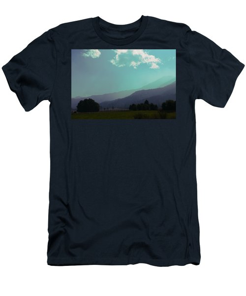 Men's T-Shirt (Athletic Fit) featuring the photograph Deep Layers by Ivana Westin