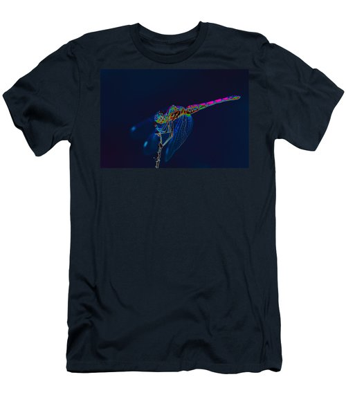 Deep Ocean Dragon Men's T-Shirt (Athletic Fit)