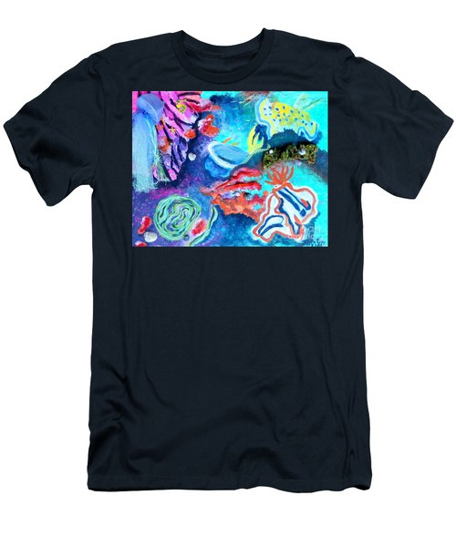 Deep Sea Nudibranch Men's T-Shirt (Athletic Fit)