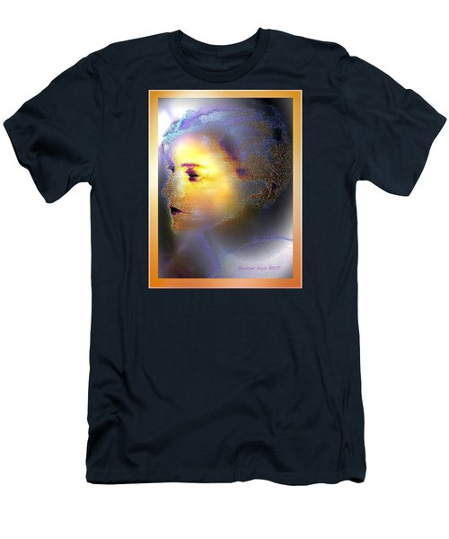 Delicate  Woman Men's T-Shirt (Slim Fit) by Hartmut Jager