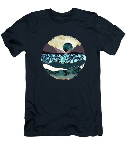 Desert Lake Men's T-Shirt (Slim Fit) by Katherine Smit