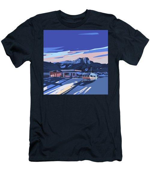 Desert Landscape 2 Men's T-Shirt (Slim Fit) by Bekim Art