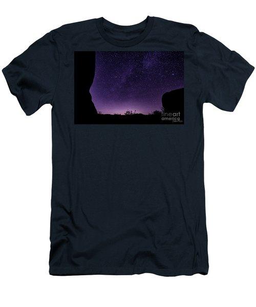 Desert Starscape Men's T-Shirt (Athletic Fit)