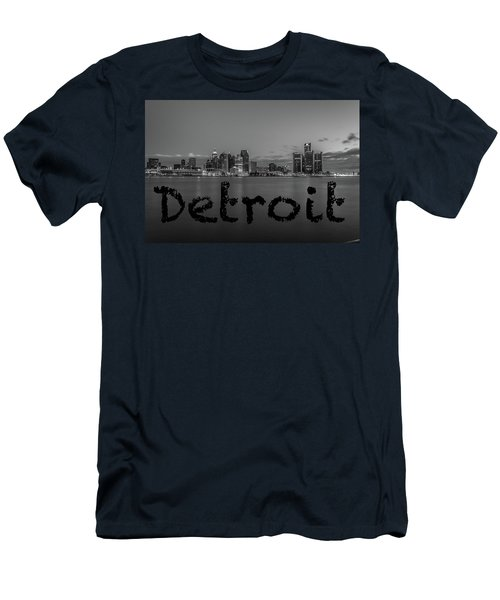 Detroit City  Men's T-Shirt (Athletic Fit)