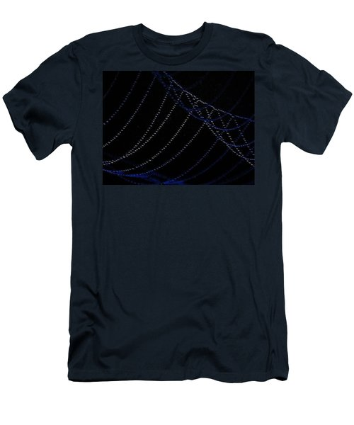Men's T-Shirt (Slim Fit) featuring the photograph Dew Drops by John Glass