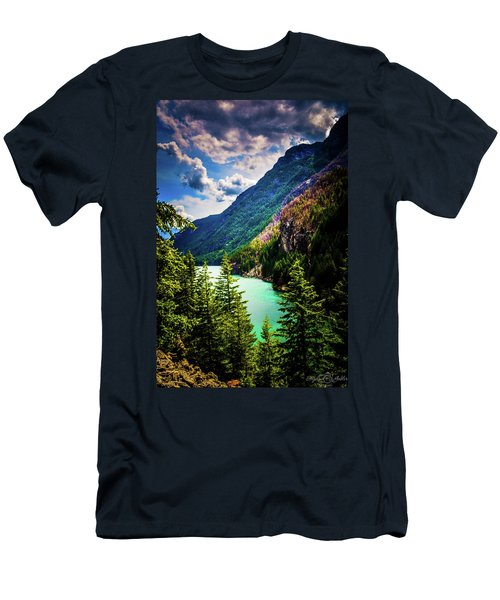 Diablo Lake Men's T-Shirt (Athletic Fit)