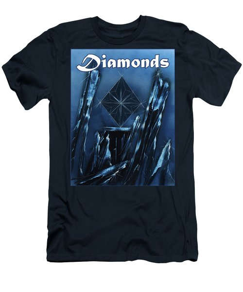 Diamonds Suit Men's T-Shirt (Athletic Fit)