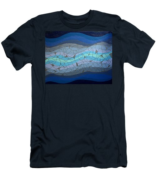Divine Flow Men's T-Shirt (Athletic Fit)