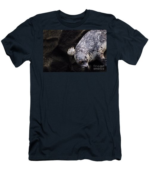 Men's T-Shirt (Slim Fit) featuring the photograph Diving In Head First by Nick Gustafson