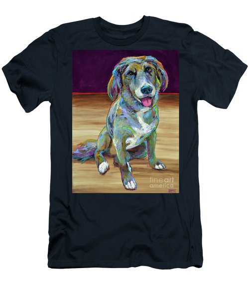 Men's T-Shirt (Slim Fit) featuring the painting Doc by Robert Phelps