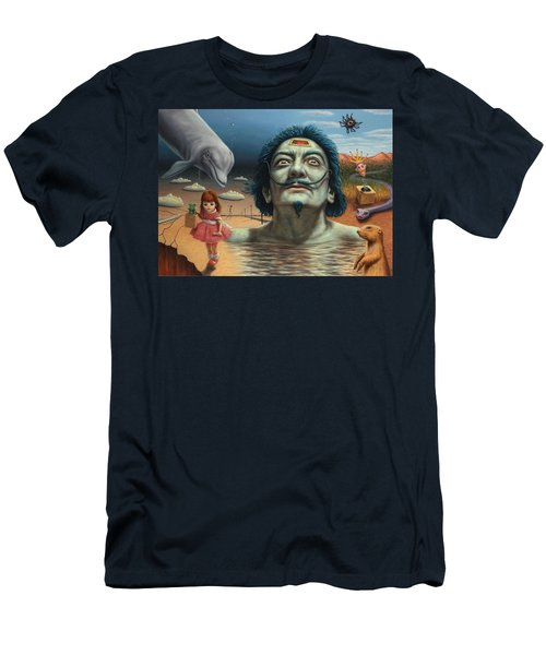 Dolly In Dali-land Men's T-Shirt (Athletic Fit)