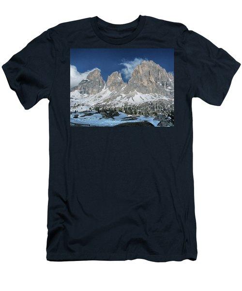Dolomites 1 Men's T-Shirt (Athletic Fit)