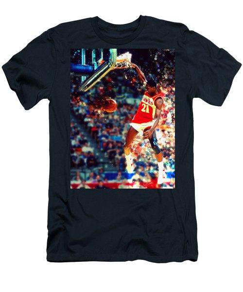 Dominique Wilkins - Nba Legend Men's T-Shirt (Athletic Fit)