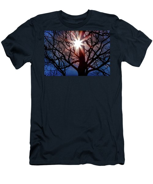 Don't Lose Sight Of It All Men's T-Shirt (Slim Fit) by Karen Wiles
