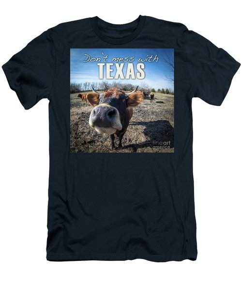 Don't Mess With Texas Men's T-Shirt (Athletic Fit)