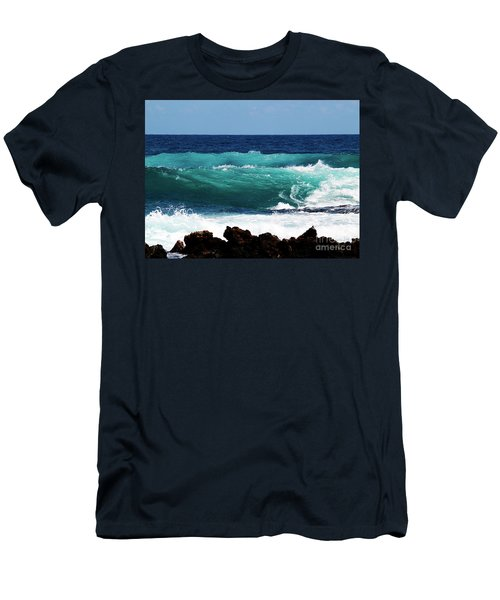 Double Waves Men's T-Shirt (Athletic Fit)