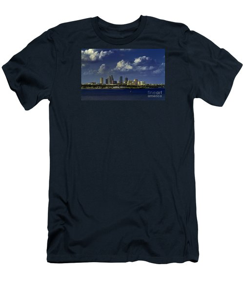 Down Town Tampa Men's T-Shirt (Athletic Fit)