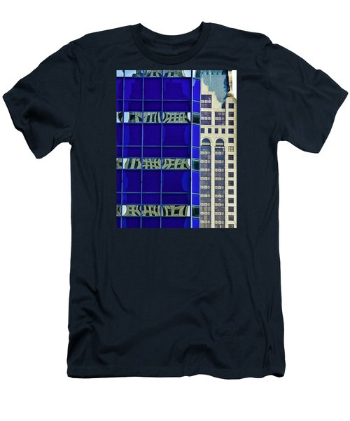Downtown Mke Men's T-Shirt (Slim Fit) by Michael Nowotny