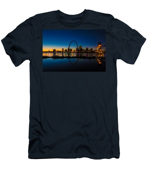 Downtown St. Louis And The Gateway Arch Men's T-Shirt (Athletic Fit)