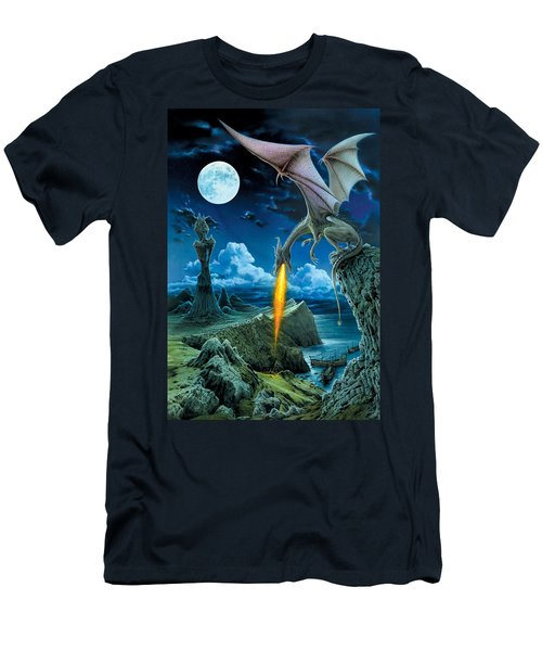 Dragon Spit Men's T-Shirt (Athletic Fit)