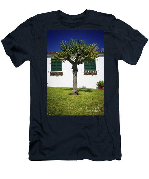 Dragon Tree Garden House Men's T-Shirt (Athletic Fit)