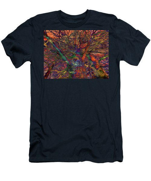 Men's T-Shirt (Slim Fit) featuring the digital art Dreamers by Robert Orinski