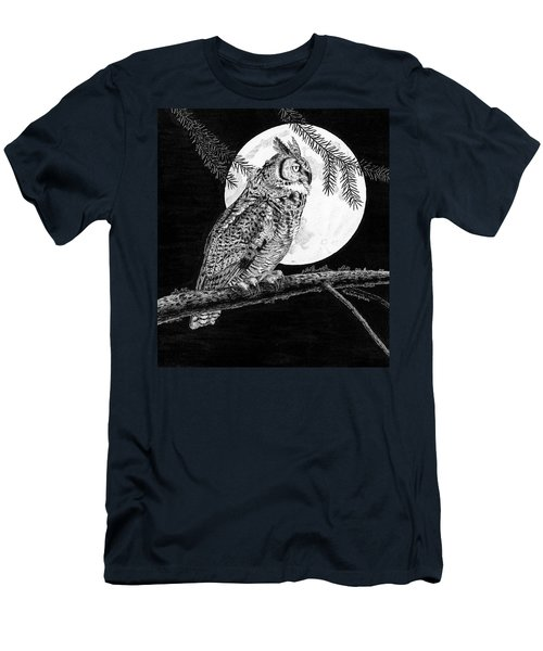 Dreaming Of The Night Men's T-Shirt (Athletic Fit)