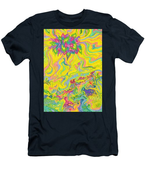 Dreamscaped Swamp-garden 1 Men's T-Shirt (Athletic Fit)