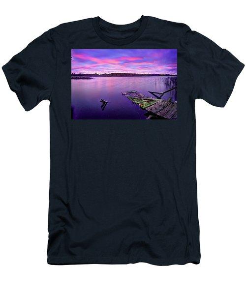 Dreamy Sunrise Men's T-Shirt (Athletic Fit)
