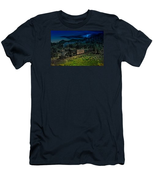 Drifting Down To Antonitio Men's T-Shirt (Slim Fit) by J Griff Griffin