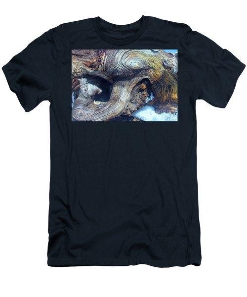 Driftwood Swirls Men's T-Shirt (Slim Fit) by Todd Breitling
