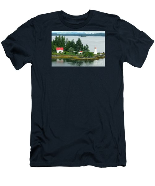 Dryad Point Lighthouse Men's T-Shirt (Athletic Fit)
