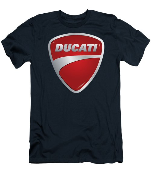 Ducati By Moonlight Men's T-Shirt (Athletic Fit)